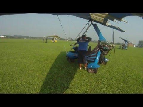 Flying Microlight / Trike / Light Sport Aircraft Atang Sanjaya to Cibubur Jakarta