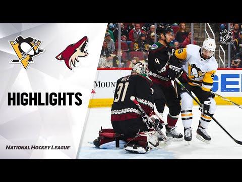 NHL Highlights | Penguins @ Coyotes 1/12/20