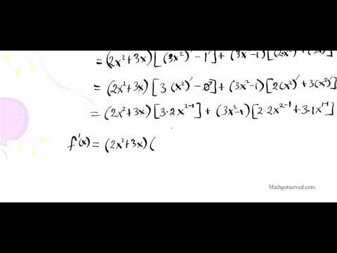 differentiation rules techniques calculus AB BC derivative d