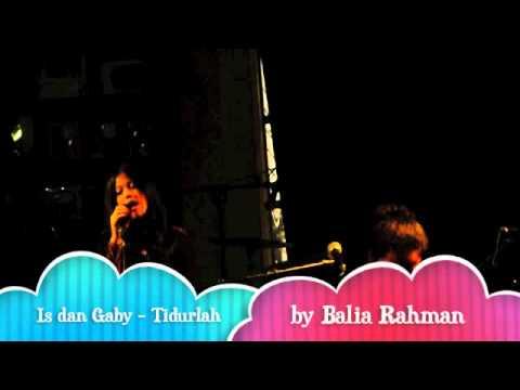 Is Payung Teduh Feat Gaby - Tidurlah (at toko buku aksara kemang)