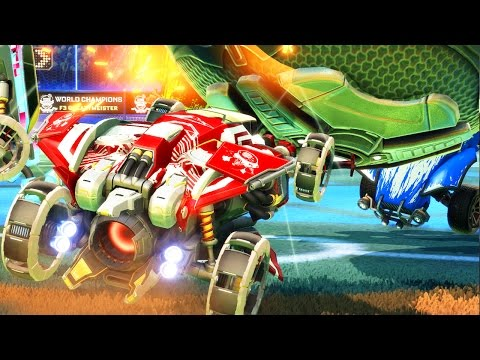 OUR MOST INTENSE OVERTIME EVER! - Rocket League Part 63 - Funny Moments