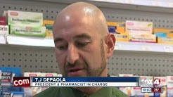 CVS pharmacist accused of writing fake prescriptions and stealing drugs