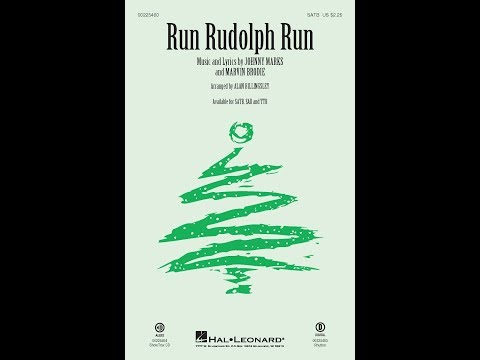 Run Rudolph Run (SATB) - Arranged by Alan Billingsley