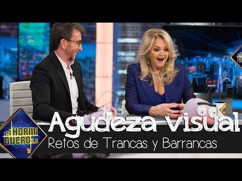 Trancas y Barrancas ponen a prueba la agudeza visual de Bonnie Tyler - El Hormiguero 3.0