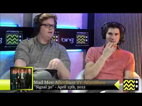 "Mad Men After Show Season 5 Episode 4 ""  Signal 30 ""  