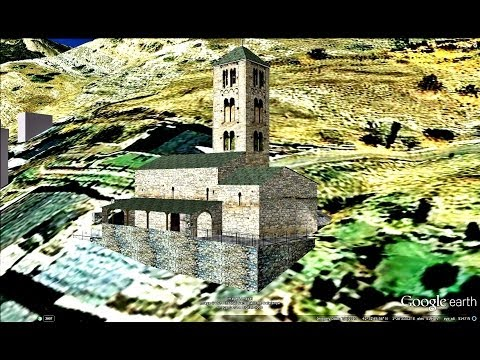 HISTORICAL PLACES OF ANDORRA IN GOOGLE EARTH