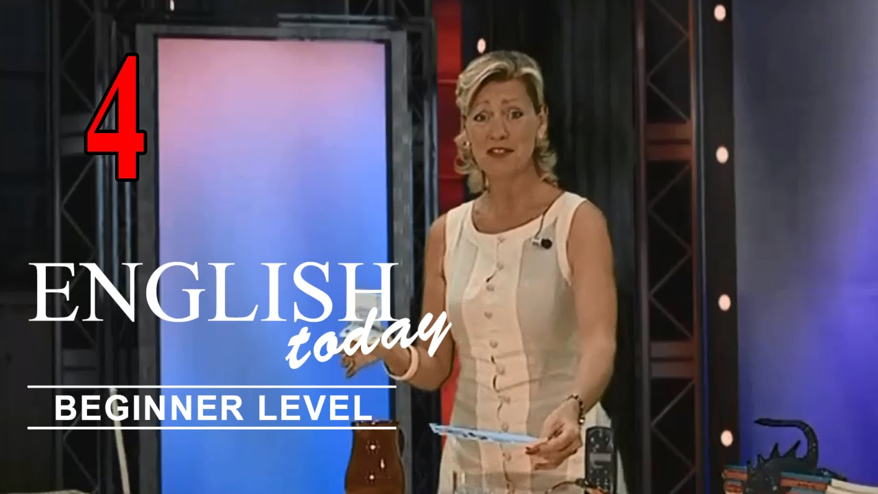 Download Learn English Conversation - English Today Beginner Level 4 - DVD 4