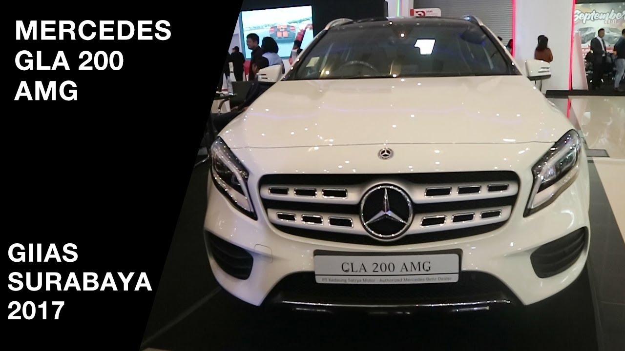 mercedes-benz gla 200 amg line 2017 - exterior and interior - giias