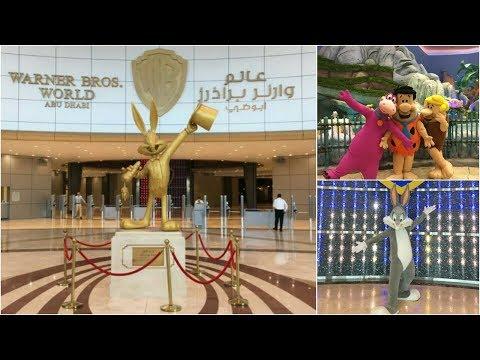 Warner Bros Abu Dhabi. Full Studio Tour. The world's first ever Warner Bros indoor theme park.