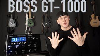 10 gute Gru¨nde fu¨r das neue BOSS GT 1000 (Quick Gear Check deutsch)