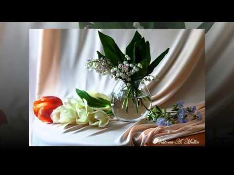 Весенние натюрморты от Виктории Муллин... Очарование Э. Туниянц