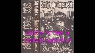 straight up gangsta shit vol 5 six feet deep 90 s rap hip hop mix chicago mixes