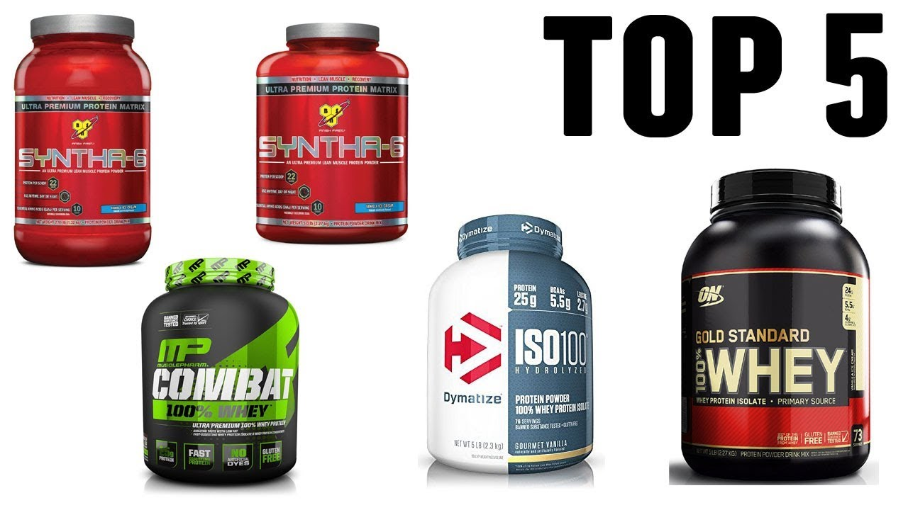 Top 5 Best Protein Powders 2018 Youtube