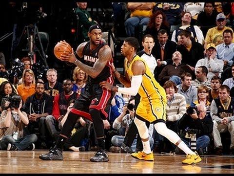 Duel: LeBron James vs Paul George - March 26, 2014