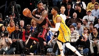 Duel: LeBron James vs Paul George - March 26, 2014