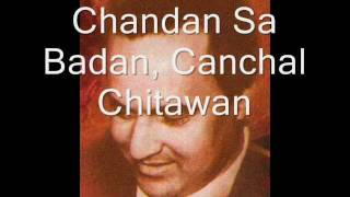 Chandan Sa Badan, Karaoke Mukesh