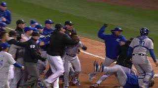 KC@CWS: Benches clear after Ventura, Eaton argue