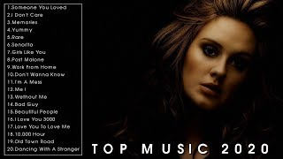 Top Music Hits 2020 - New Popular Songs Ever - Best English Songs Playlist