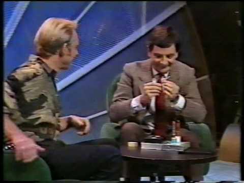 Mr Bean promoterer video i NRK