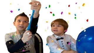 Невероятные Фокусы с воздушными шариками | Incredible Focuses with Balloons