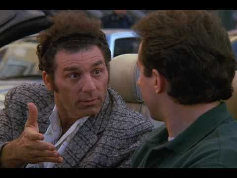 How to get out of a traffic jam, by Cosmo Kramer