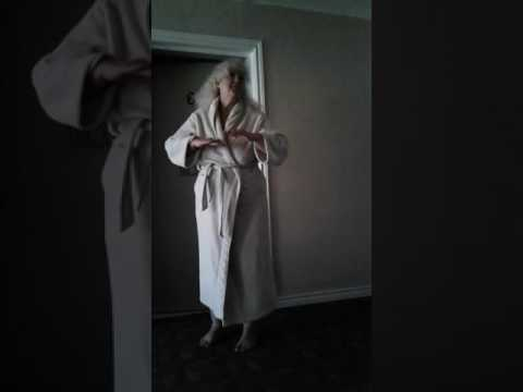 Old Women Shows her Boobs!