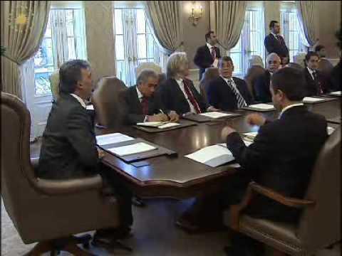 TUSKON Yönetim Kurulu Başkanı ve Üyelerini Kabul etti.