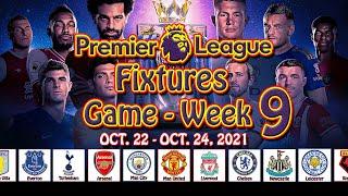 Epl fixtures today   Week 9 - Oct. 22-24, 2021   premier league, epl, epl highlights, football, game screenshot 4