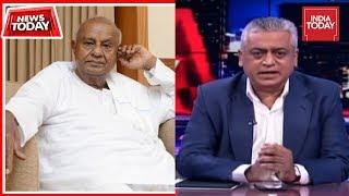 HD Deve Gowda Exclusive On Karnataka Crisis   News Today With Rajdeep