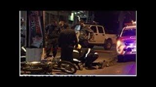 Motociclista imprudente fue embestido por un auto Global Now TV