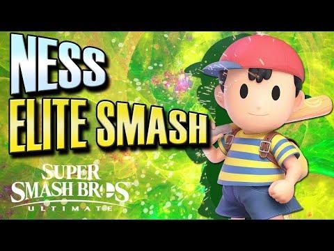Smash Ultimate: Ness Elite Smash