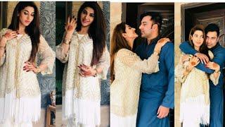 Sana Fakhar with beautiful Family on Eid Day