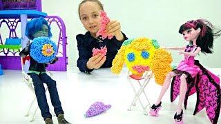 Видео для детей. Урок творчества с Монстер Хай