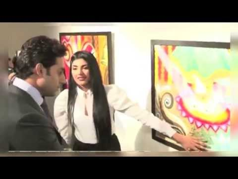 Abhishek Bachchan at inaugurates Radhika Goenka's art exhibition