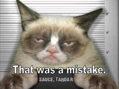 Tardar Sauce The Grumpy Cat Funny Birthday Greeting With Instrumental Happy Song For Your