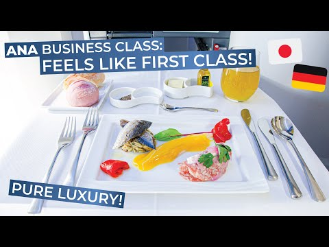 TRIPREPORT (Best Crew Ever!) | All Nippon Airways (BUSINESS) | Tokyo - Frankfurt | Boeing 777-300ER