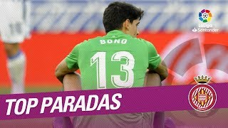 TOP Paradas Girona FC LaLiga Santander 2017/2018