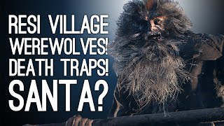 Resident Evil Village Episode 1! WEREWOLVES! DEATH TRAPS! SANTA?