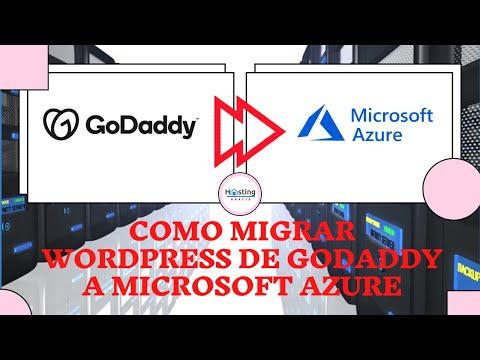 Como Migrar WordPress De GoDaddy A Azure Paso A Paso - HOSTING GRATIS MEXICO