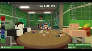 spielen roblox Zombie-Ansturm mit Freunden