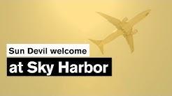Sun Devil welcome at Sky Harbor | ASU welcome week