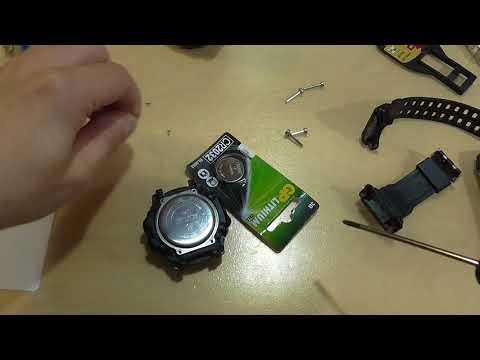 2032 за 1 рубль + разборка Skmei 1227 (замена батарейки)