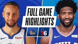WARRIORS at SIXERS | FULL GAME HIGHLIGHTS | April 19, 2021