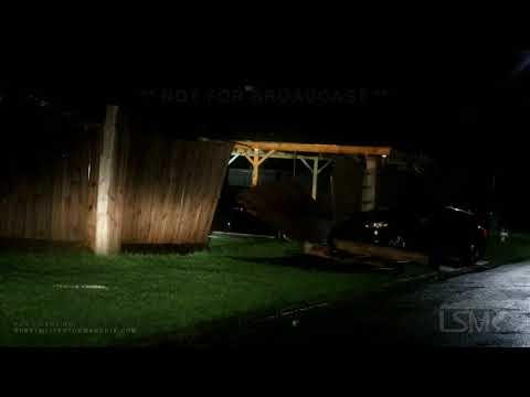 08-27-2020 Port Arthur, TX - Hurricane Laura - Port Arthur Storm Damage