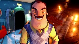 IN THE BASEMENT - Hello Neighbor Alpha 2 Update ENDING