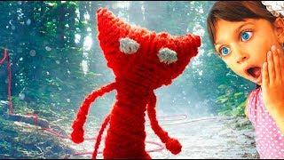 ИГРУШЕЧНЫЙ КОТЕНОК как мультяшный БЕНДИ #1 мультик игра про милого вязаного котика Валеришка