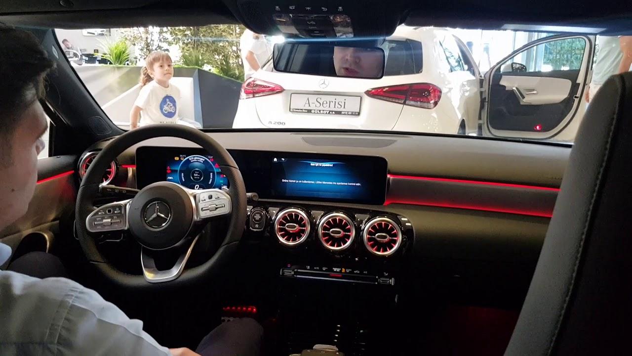 Mercedes Benz yeni 2018 A serisi A180D AMG