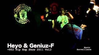 VSOP - Heyo & Geniuz F Part 1 at 852 Hip Hop Show 2011 Vol 2