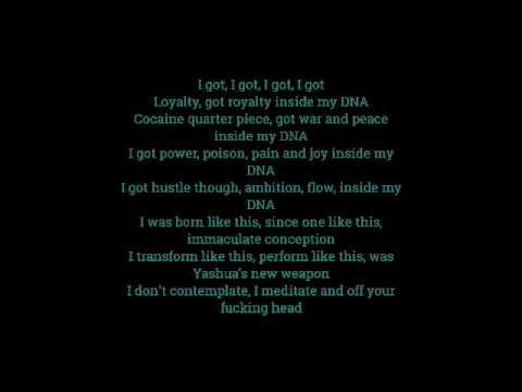 Kendrick Lamar - DNA. With Lyrics