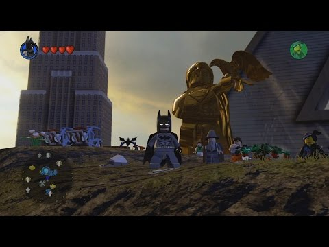 LEGO Dimensions - DC Comics World - Open World Free Roam Gameplay